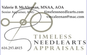 Timeless Needleart Appraisals